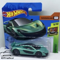 Coches a escala: HOT WHEELS MCLAREN P1 1:64 HOTWHEELS 2020 // (2). Lote 210424630
