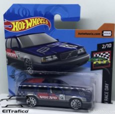 Coches a escala: HOT WHEELS VOLVO 850 ESTATE NEGRO 1:64 HOTWHEELS 2020 // (2). Lote 210424707