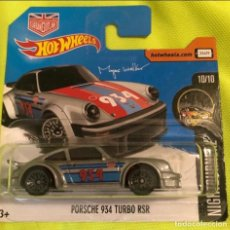Coches a escala: HOT WHEELS 1/64 PORSCHE 934 TURBO RSR. Lote 210766927