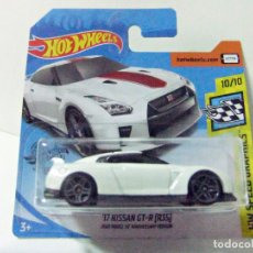 Coches a escala: ´17 NISSAN GT-R (R35) HOT WHEELS HW SPEED GRAPHICS 2020 MODEL 50 ANNIVERSARY VERSION 1:64 COCHE GTR. Lote 210964702