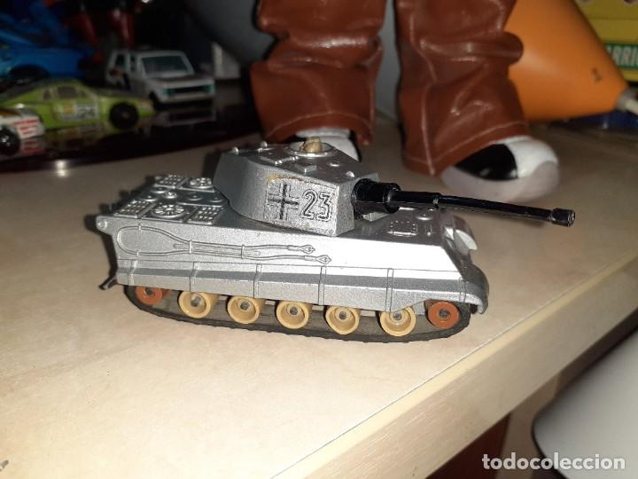 MATCHBOX BATTLE KINGS.TANQUE ALEMÁN TIGER.1974 LESNEY. (Juguetes - Coches a Escala Otras Escalas )