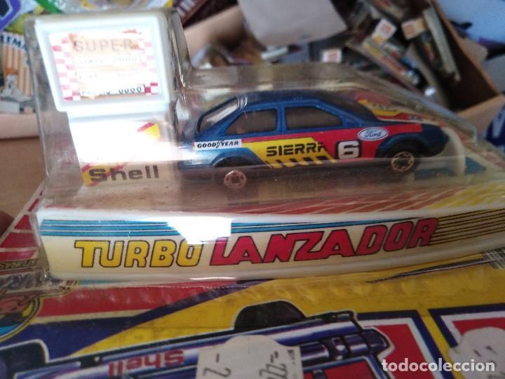 Coches a escala: blister COCHE FORD SIERRA TURBO LANZADOR GT de mira - Foto 2 - 211849118