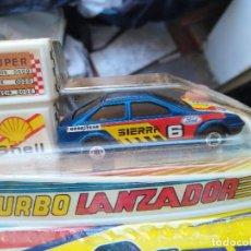 Coches a escala: BLISTER COCHE FORD SIERRA TURBO LANZADOR GT DE MIRA. Lote 211849118