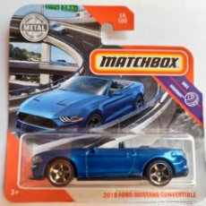 Coches a escala: MATCHBOX 2018 FORD MUSTANG CONVERTIBLE. MBX HIGHWAY.. Lote 211900237