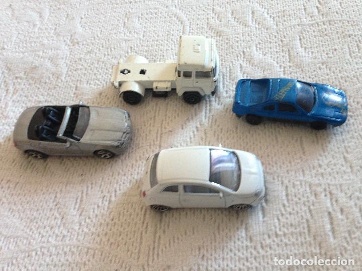 LOTE COCHES MAJORETTE Y GUISVAL.FIAT 500-MERCEDES SLK (Juguetes - Coches a Escala Otras Escalas )