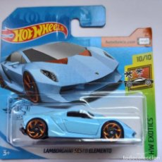 Coches a escala: HOT WHEELS LAMBORGHINI SESTO ELEMENTO. HW EXOTICS 10/10 (2). Lote 229447700
