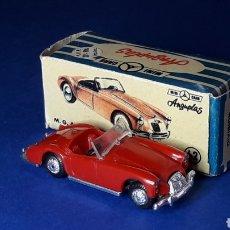 Coches a escala: MGA 1600 Nº 62, PLÁSTICO ESC. 1/86 H0, ANGUPLAS MINI-CARS, ORIGINAL AÑO 1960. CON CAJA.. Lote 212879302