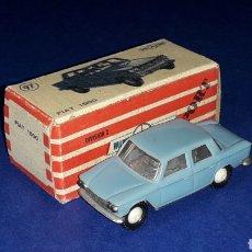 Coches a escala: FIAT 1500 Nº 97, PLÁSTICO ESC 1/86 H0, ANGUPLAS MINI-CARS SPAIN, ORIGINAL 1960. CON CAJA. Lote 213255430