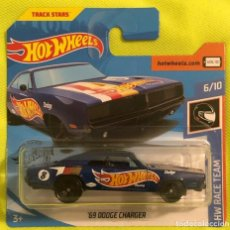 Coches a escala: HOT WHEELS 1/64 '69 DODGE CHARGER. Lote 213334547