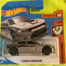 Coches a escala: HOT WHEELS 1/64 '15 DODGE CHARGER SRT. Lote 213334627