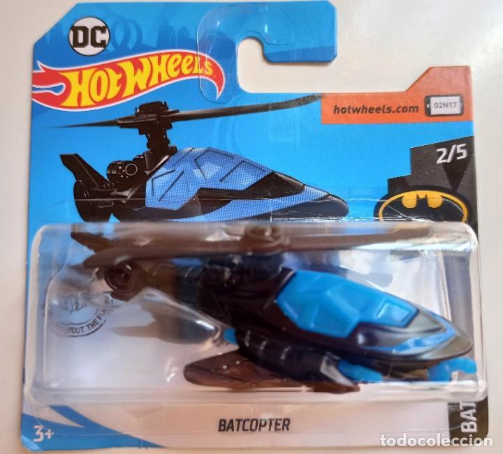 HOT WHEELS BATCOPTER. BATMAN 2/5 (1) (Juguetes - Coches a Escala Otras Escalas )