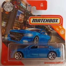 Coches a escala: MATCHBOX 2018 DODGE CHARGER. MBX CITY. (1). Lote 214118012