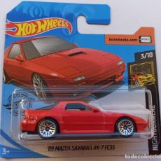 Coches a escala: HOT WHEELS '89 MAZDA SAVANNA RX-7 FC3S. NIGHTBURNERZ 3/10. Lote 231347285