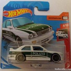 Coches a escala: HOT WHEELS '92 BMW M3. HW RESCUE 4/10. Lote 262596940