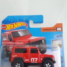 Coches a escala: HOT WHEELS LAND ROVER DEFENDER 90. Lote 214419278