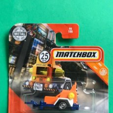 Coches a escala: MATCHBOX 2020 - SPEED TRAPPER MBX CITY - 98/100 - NUEVO EN BLISTER - ESCALA 1:64 - TIPO HOT WHEELS. Lote 214883276