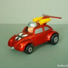 Coches a escala: MATCHBOX LESNEY SUPERFAST Nº 11 VOLKSWAGEN ESCARABAJO FLYING BUG HOT ROD. AÑO 1972/77. EXCELENTE.. Lote 215425493