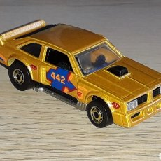 Coches a escala: FLAT OUT 442 MUCH REF. 2506, METAL, ESC. APROX. 1/64, HOT WHEELS MALAYSIA, 1978-1983.. Lote 252909730