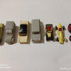 Coches a escala: LOTE DE 7 COCHES ANTIGUO 5 MINI CARS Y 2 DE EKO. Lote 216827705
