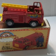 Coches a escala: COCHE BOMBEROS CHIQUICERILLAS GUISVAL REF.579 EN BLISTER. Lote 217042481