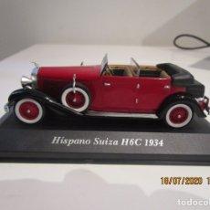 Coches a escala: COCHE HISPANO SUIZA H6C 1934 ALTAYA. Lote 218507035