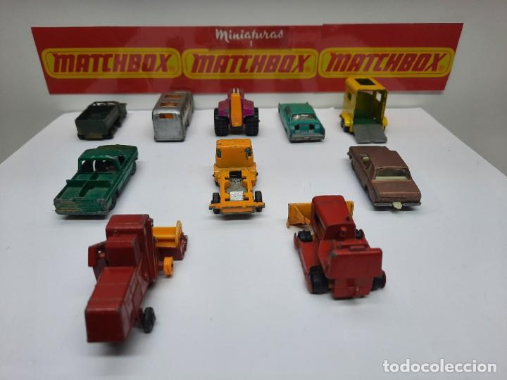 Coches a escala: (LOTE C) 10 MINIATURAS MATCHBOX , tipo majorette guisval joal pilen mira - Foto 11 - 218610990