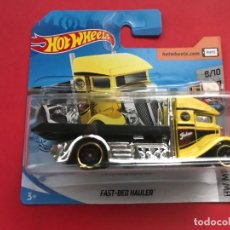 Auto in scala: HOT WHEELS 2019 207/250 - FAST BED HAULER - HW METRO 8/10 - NUEVO EN BLISTER - ESCALA 1:64. Lote 218749421