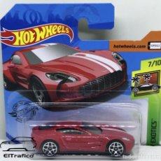 Carros em escala: HOT WHEELS ASTON MARTIN ONE-77 ROJO, 1:64 HOTWHEELS 2020 // (HWR02). Lote 219306760