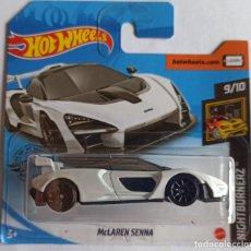 Coches a escala: HOT WHEELS MCLAREN SENNA. NIGHTBURNERZ 9/10. Lote 220373822