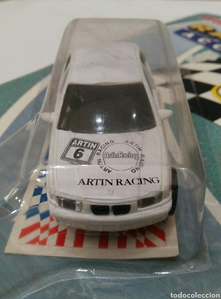 Coches a escala: ARTIN BMW M3. NUEVO EN BLISTER. RACING SET. COCHE SIMILAR SCALEXTRIC. REF 4752F. SLOT CAR. - Foto 3 - 220672121