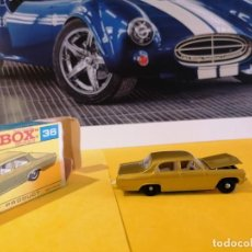 Coches a escala: MATCHBOX BY LHNEY OPEL DIPLOMAT TODO ORIGINAL CAPO Y MOTOR ABRIBLE AÑOS 70. Lote 220773353