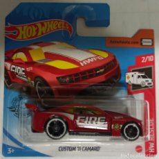Coches a escala: HOT WHEELS CUSTOM '11 CAMARO. HW RESCUE 2/10. Lote 220800183
