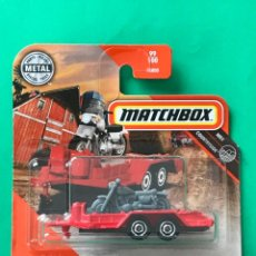 Auto in scala: MATCHBOX 2020 - MBX CYCLE TRAILER - 99/100 - NUEVO EN BLISTER - ESCALA 1:64 - TIPO HOT WHEELS. Lote 220892951