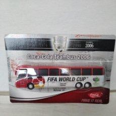 Coches a escala: 1/87 COCA-COLA AUTOBÚS SELECCIÓN ALEMANA MUNDIAL FIFA 2006. Lote 221156971