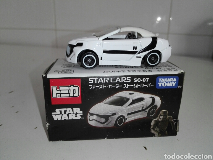 Coches a escala: STAR CARS -FIRST ORDER STORMTROOPER- TOMICA - STAR WARS - SC 07- MADE VIETNAM- TOMY TAKARA- 1/64 ap - Foto 2 - 221272203