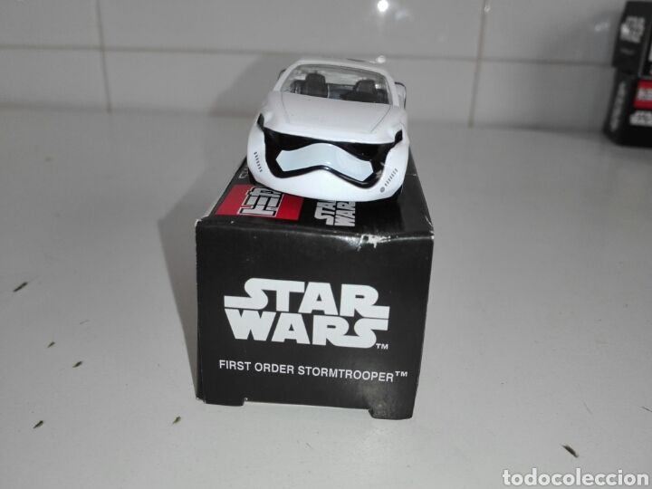 Coches a escala: STAR CARS -FIRST ORDER STORMTROOPER- TOMICA - STAR WARS - SC 07- MADE VIETNAM- TOMY TAKARA- 1/64 ap - Foto 4 - 221272203