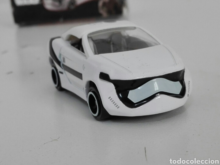 Coches a escala: STAR CARS -FIRST ORDER STORMTROOPER- TOMICA - STAR WARS - SC 07- MADE VIETNAM- TOMY TAKARA- 1/64 ap - Foto 5 - 221272203