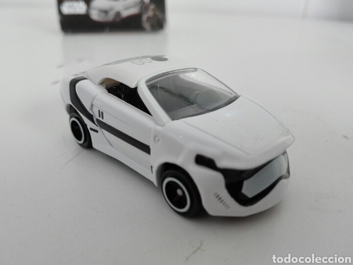 Coches a escala: STAR CARS -FIRST ORDER STORMTROOPER- TOMICA - STAR WARS - SC 07- MADE VIETNAM- TOMY TAKARA- 1/64 ap - Foto 7 - 221272203
