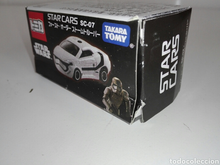 Coches a escala: STAR CARS -FIRST ORDER STORMTROOPER- TOMICA - STAR WARS - SC 07- MADE VIETNAM- TOMY TAKARA- 1/64 ap - Foto 11 - 221272203
