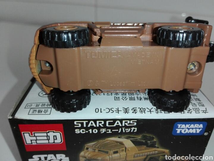 Coches a escala: STAR CARS - CHEWBACCA- STAR WARS- CAMION GRUA- TOMICA - MADE VIETNAM- 1/64 @prox - TOMY TAKARA- - Foto 14 - 221274083