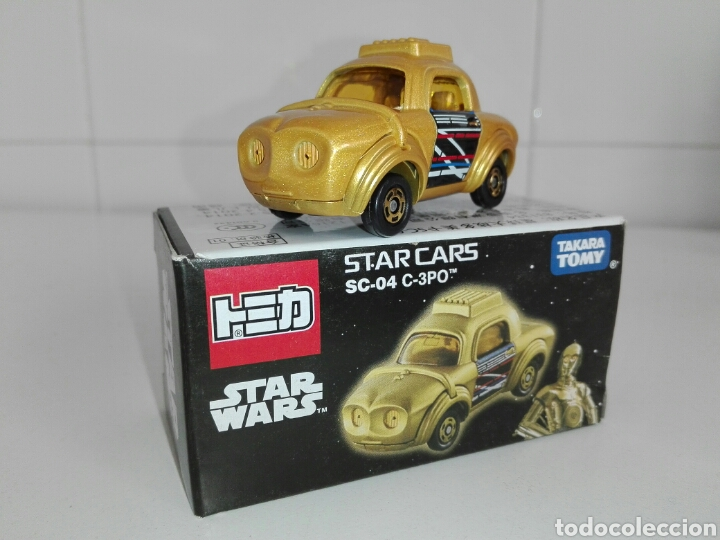 Coches a escala: STAR CARS- C-3PO- STAR WARS - TOMICA- MADE VIETNAM- 1/64@prox - TOMY TAKARA- SC 04- - Foto 2 - 221275868