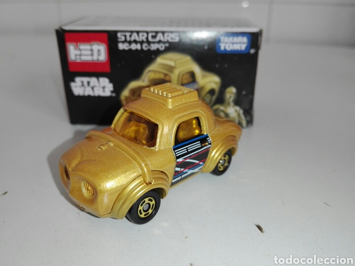 Coches a escala: STAR CARS- C-3PO- STAR WARS - TOMICA- MADE VIETNAM- 1/64@prox - TOMY TAKARA- SC 04- - Foto 3 - 221275868