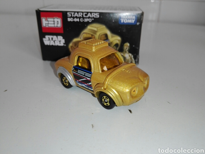 Coches a escala: STAR CARS- C-3PO- STAR WARS - TOMICA- MADE VIETNAM- 1/64@prox - TOMY TAKARA- SC 04- - Foto 4 - 221275868