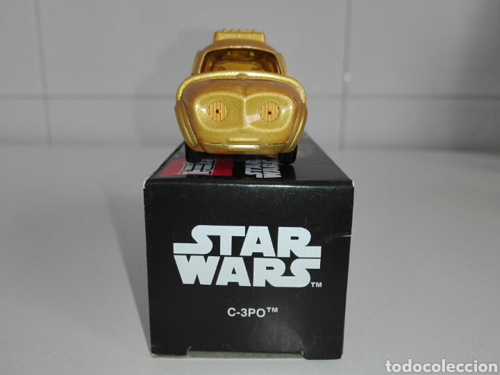 Coches a escala: STAR CARS- C-3PO- STAR WARS - TOMICA- MADE VIETNAM- 1/64@prox - TOMY TAKARA- SC 04- - Foto 5 - 221275868