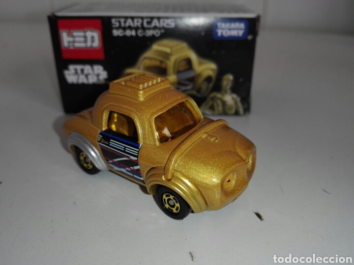 Coches a escala: STAR CARS- C-3PO- STAR WARS - TOMICA- MADE VIETNAM- 1/64@prox - TOMY TAKARA- SC 04- - Foto 8 - 221275868