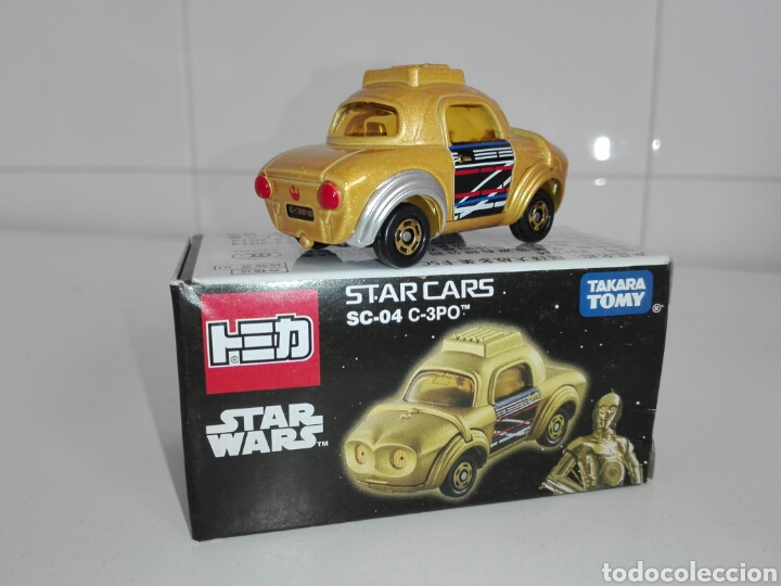 Coches a escala: STAR CARS- C-3PO- STAR WARS - TOMICA- MADE VIETNAM- 1/64@prox - TOMY TAKARA- SC 04- - Foto 9 - 221275868