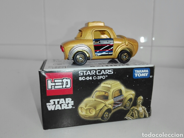 Coches a escala: STAR CARS- C-3PO- STAR WARS - TOMICA- MADE VIETNAM- 1/64@prox - TOMY TAKARA- SC 04- - Foto 12 - 221275868