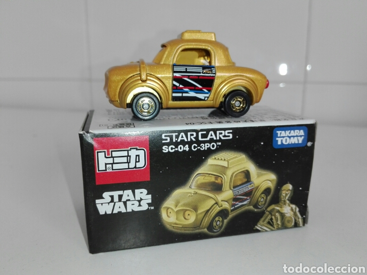 Coches a escala: STAR CARS- C-3PO- STAR WARS - TOMICA- MADE VIETNAM- 1/64@prox - TOMY TAKARA- SC 04- - Foto 13 - 221275868