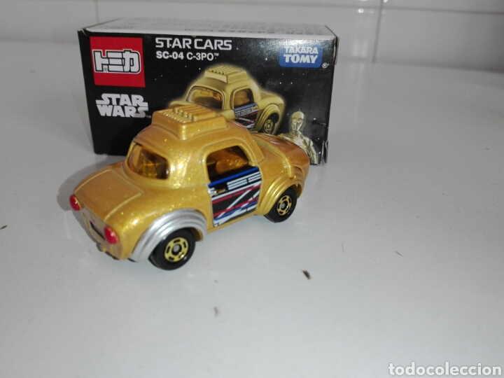 Coches a escala: STAR CARS- C-3PO- STAR WARS - TOMICA- MADE VIETNAM- 1/64@prox - TOMY TAKARA- SC 04- - Foto 16 - 221275868
