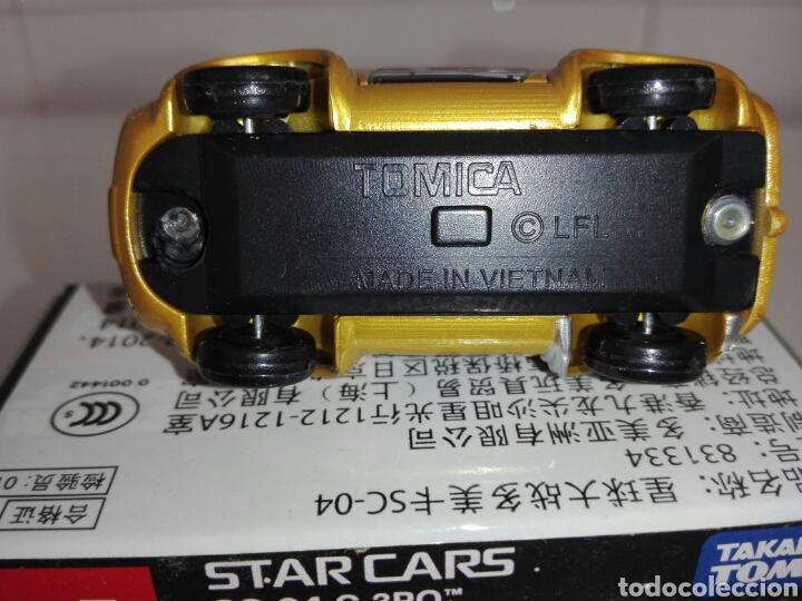 Coches a escala: STAR CARS- C-3PO- STAR WARS - TOMICA- MADE VIETNAM- 1/64@prox - TOMY TAKARA- SC 04- - Foto 17 - 221275868